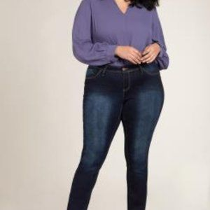 Plus Size Hyperstretch Skinny Jean
